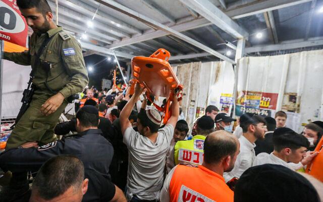 ისრაელში, ფესტივალზე ტრიბუნის ჩანგრევის შედეგად, 44 ადამიანი გარდაიცვალა, 150-ზე მეტი დაშავდა