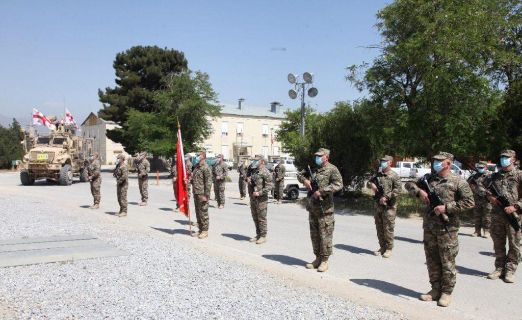 საქართველოს თავდაცვის ძალების 30 წლის იუბილე მშვიდობისმყოფელებმა ავღანეთშიც აღნიშნეს