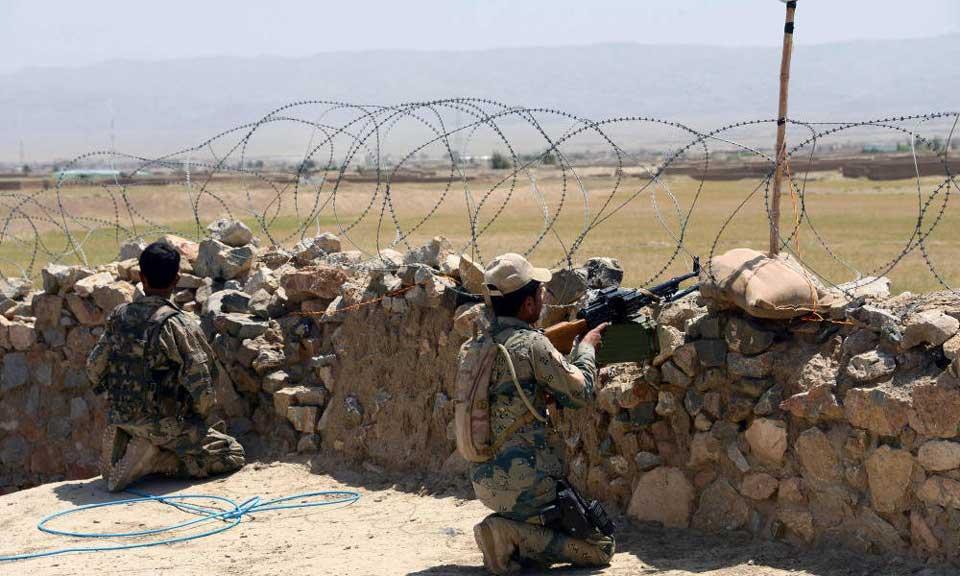 """""""თალიბანმა"""" ავღანური ჯარების ერთ-ერთ სამხედრო ბაზაზე შეტევა განახორციელა"""
