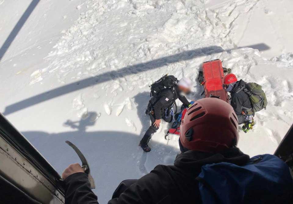 В Местиа спасатели обнаружили мертвым одного человека