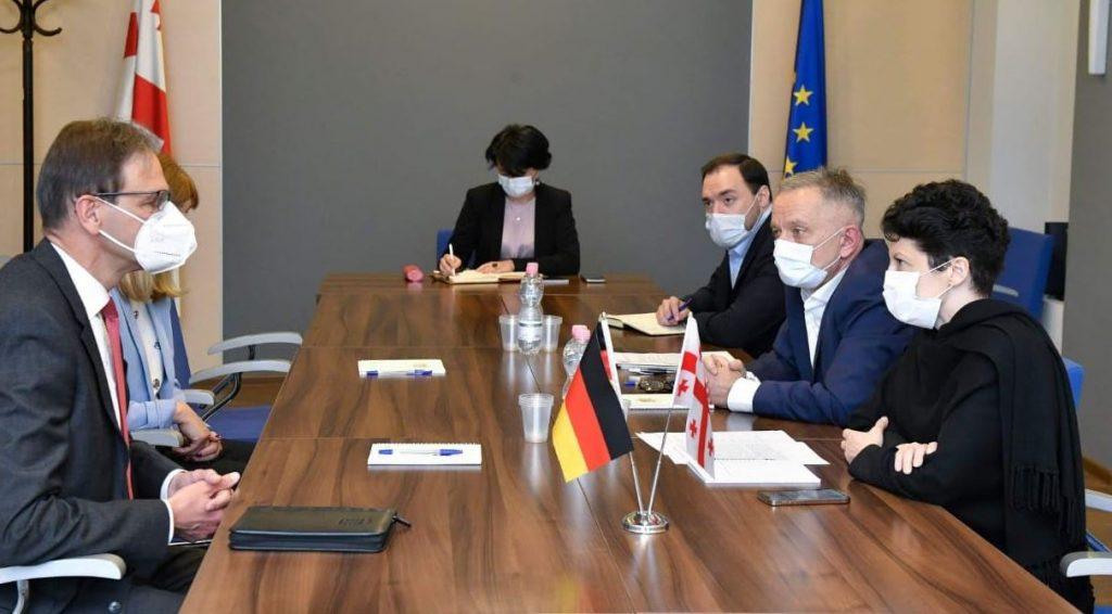 Culture Minister meets German Ambassador