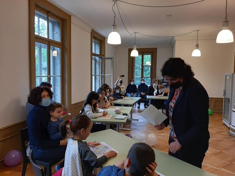შვეიცარიის დედაქალაქში ქართული საკვირაო სკოლა გაიხსნა