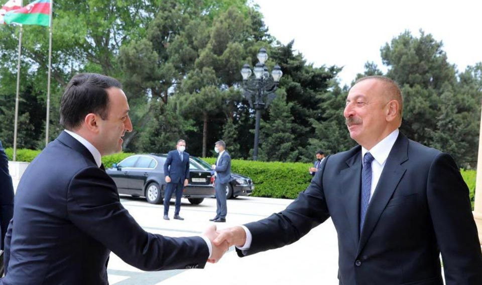 Azerbaijani President thanks Georgian gov't for projects support