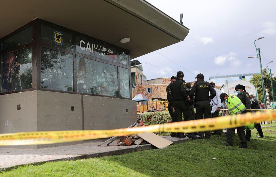 კოლუმბიის დედაქალაქ ბოგოტაში ანტისამთავრობო დემონსტრაციის მონაწილეების წინააღმდეგ პოლიციამ ცრემლსადენი გაზი გამოიყენა