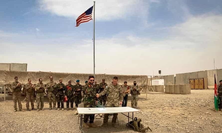 აშშ ავღანეთში დამატებითი სამხედრო ტექნიკის გაგზავნას გეგმავს, რომელიც ავღანეთიდან ამერიკის ჯარების გაყვანის უსაფრთხოებას უზრუნველყოფს
