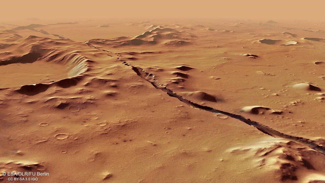 მარსზე აქტიური ვულკანების ნიშნები აღმოაჩინეს, რაც იქ სიცოცხლის არსებობის შანსებს ზრდის — #1tvმეცნიერება