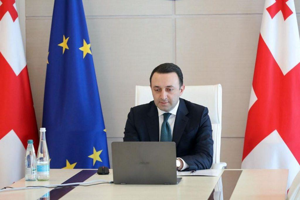 Ираклий Гарибашвили поговорил с премьер-министром Украины о дальнейшем стратегическом партнерстве и сотрудничестве в процессе евроатлантической интеграции