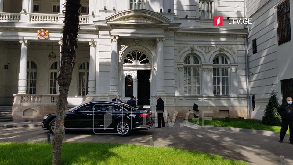 Georgian President and PM meet