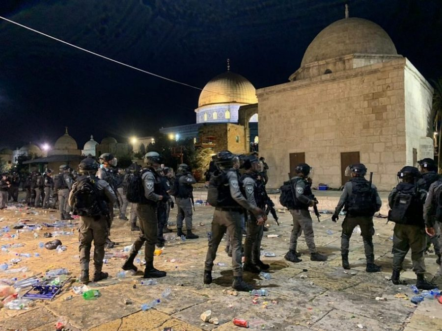 იერუსალიმში, ალ-აქსას მეჩეთთან დაპირისპირების შედეგად დაშავებული პალესტინელების რიცხვი 200-მდე გაიზარდა