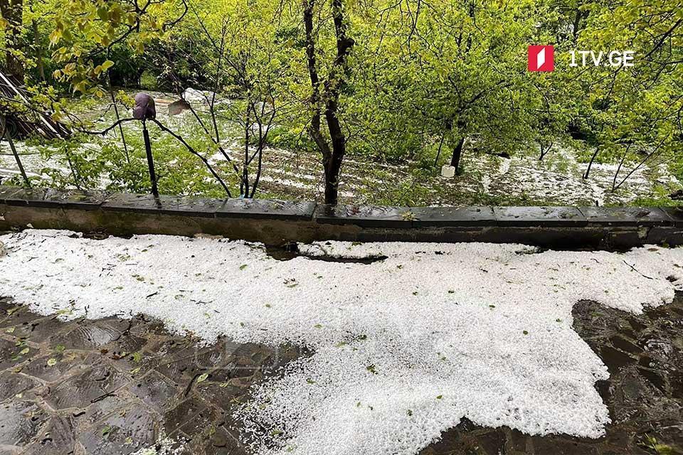 Թեթրիծղարոյում կարկտահարվել է մի քանի գյուղ