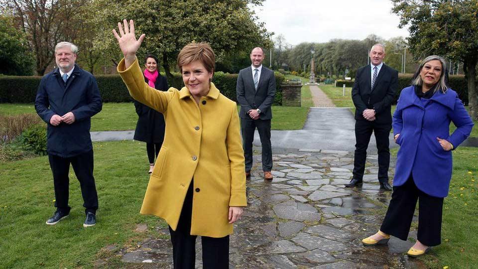 შოტლანდიის პირველი მინისტრი აცხადებს, რომ ბრიტანეთის შემადგენლობიდან შოტლანდიის გასვლის შესახებ მეორე რეფერენდუმის ჩატარება მხოლოდ დროის საკითხია