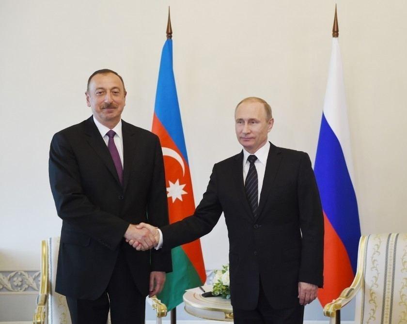 რუსეთისა და აზერბაიჯანის პრეზიდენტებს შორის სატელეფონო საუბარი გაიმართა
