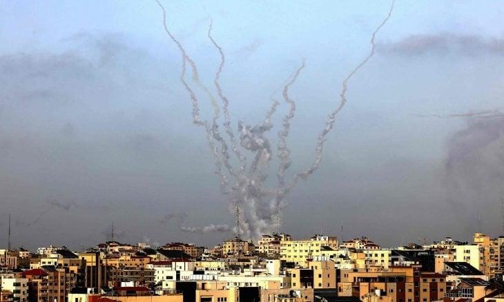 """ისრაელის არმიამ ღაზის სექტორში """"ჰამასის"""" სამხედრო ობიექტების დაბომბვა დაიწყო"""