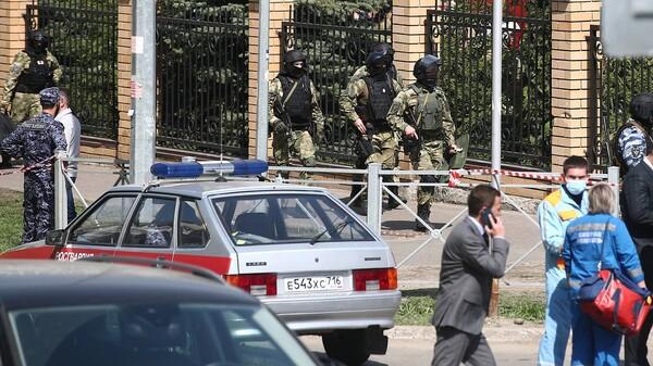 რუსული მედიის ცნობით, ყაზანის სკოლაზე ერთი თავდამსხმელი ლიკვიდირებულია, დაკავებულია კიდევ ერთი პირი