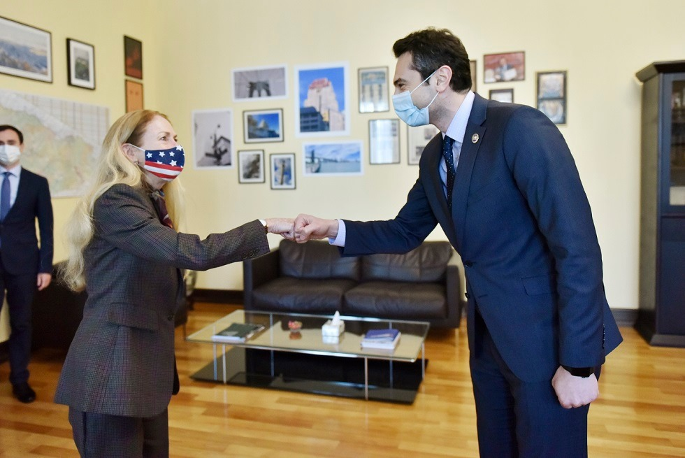 Parliament Speaker, US Ambassador meets