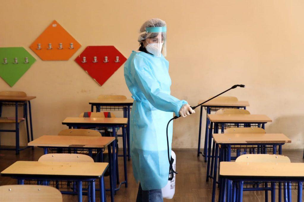 Georgian schoolsready to resume classes