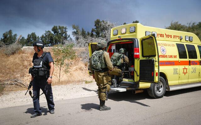 ღაზას სექტორიდან ნასროლ ტანკსაწინააღმდეგო მართვადი რაკეტის აფეთქებას ისრაელში მსხვერპლი მოჰყვა