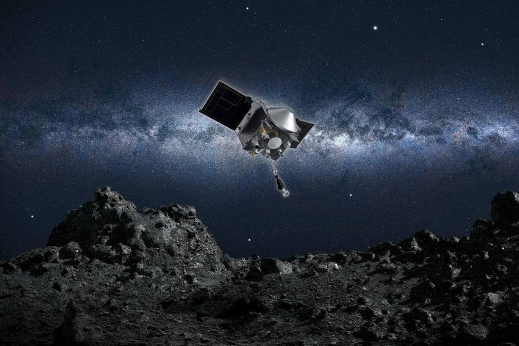 NASA-ს ხომალდი, რომელმაც შორეული ასტეროიდის ნიმუშები აიღო, დედამიწისკენ გამოეშურა — #1tvმეცნიერება
