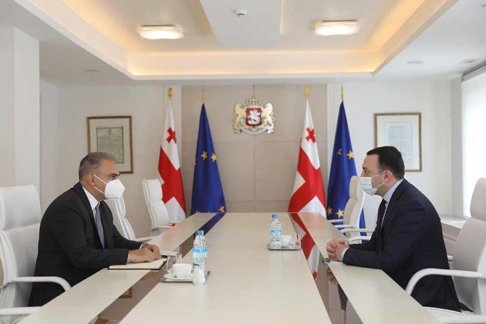 PM Garibashvili met with IMF Resident Representative for Georgia