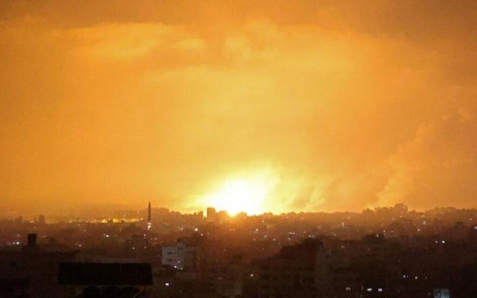 """ისრაელმა ორგანიზაცია """"ჰამასის"""" სამხედრო ობიექტებზე შეტევა განახორციელა"""