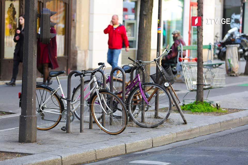 პარიზის ცენტრში საავტომობილო მოძრაობა შეიზღუდება და პრიორიტეტი ველოსიპედებს მიენიჭება