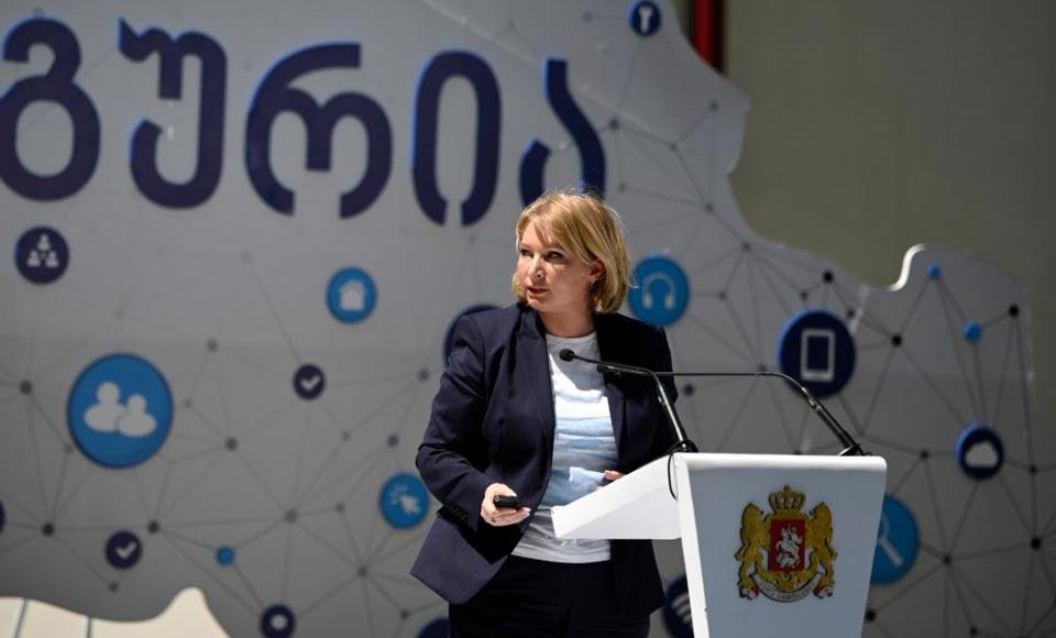 ნათია თურნავა - 2025 წლამდე ოპტიკური ინტერნეტის ქსელით დაიფარება საქართველოს 1000-მდე დასახლებული პუნქტი