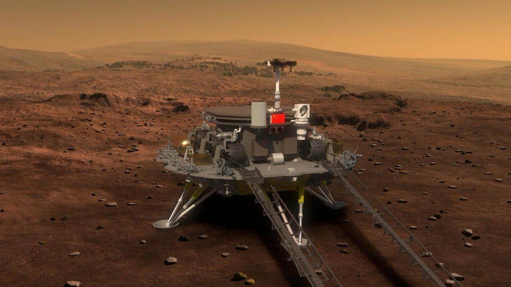 ჩინეთმა მარსზე მავალი წარმატებით დასვა — #1tvმეცნიერება