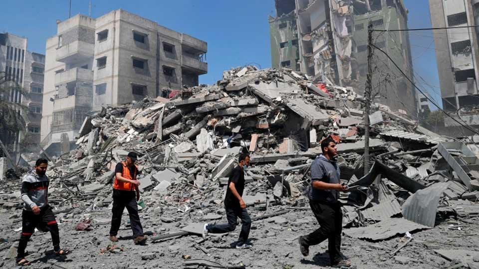 ღაზას სექტორში ისრაელის ავიაიერიშების შედეგად დაღუპულთა რიცხვმა 188-ს მიაღწია