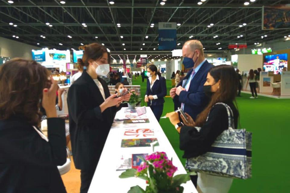 Грузия участвует в международной туристической выставке в Дубае