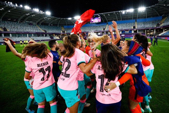 """""""ბარსელონამ"""" პირველად მოიგო ქალთა ჩემპიონთა ლიგა #1TVSPORT"""