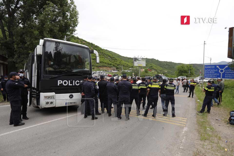 საპატრულო პოლიციის უფროსის მოადგილე აცხადებს, რომ დმანისთან მოძრაობა უსაფრთხოების ზომებიდან გამომდინარე შეიზღუდა