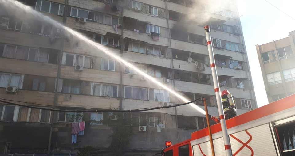 Пожар на проспекте Пекина ликвидирован