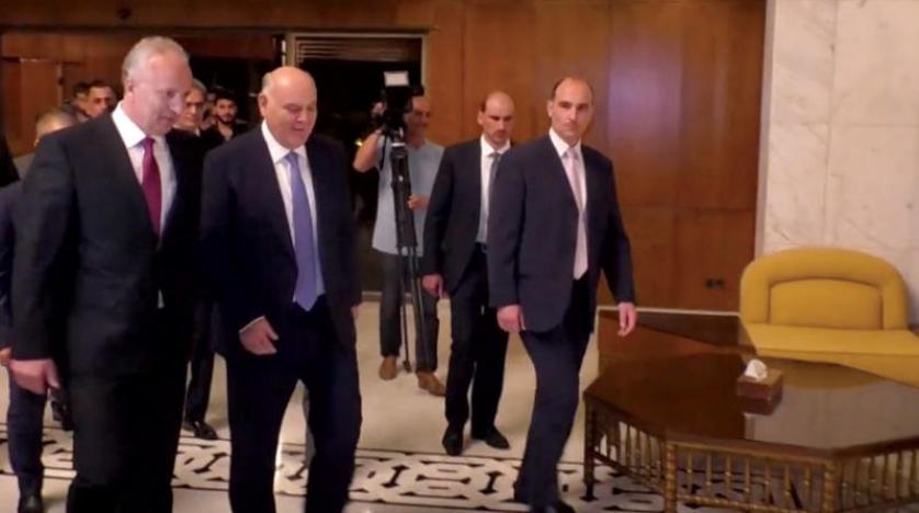 Аслан Бжания встретился в Дамаске с Башаром Асадом