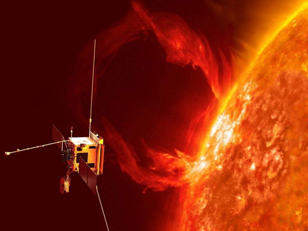 კოსმოსურმა ხომალდმა პირველად გადაიღო მზის ზედაპირზე მომხდარი მასიური ამოფრქვევა — #1tvმეცნიერება