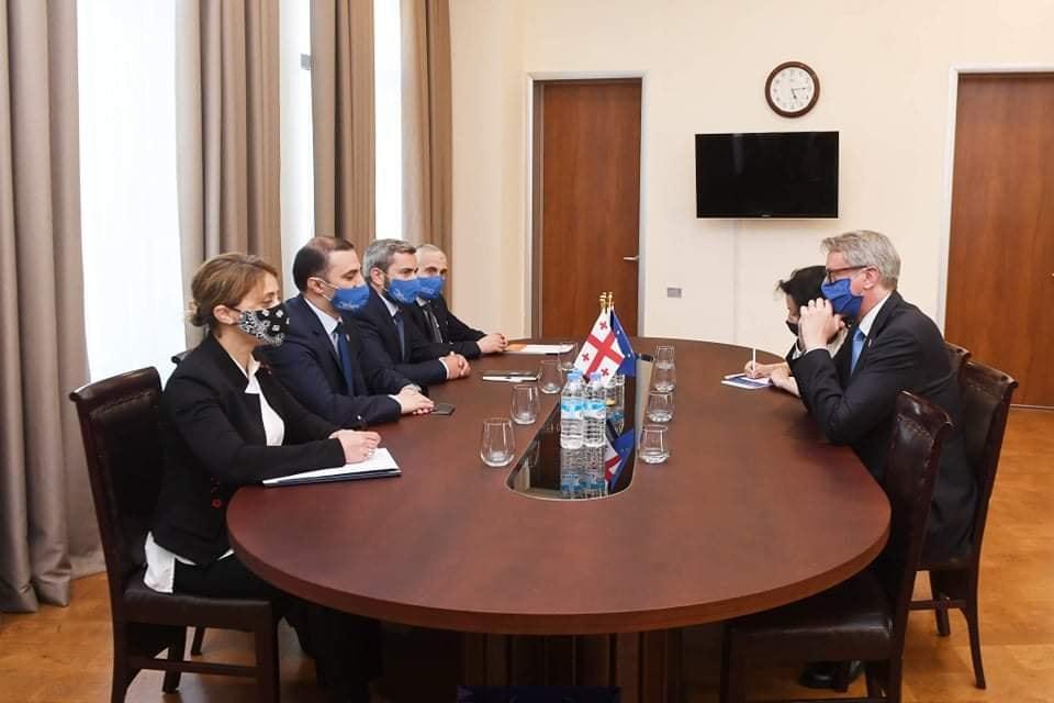 Карл Харцель встретился с председателем Верховного Совета Аджарии