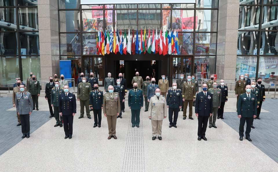 გენერალ-მაიორი გიორგი მათიაშვილი ევროკავშირის სამხედრო კომიტეტის სხდომას დაესწრო