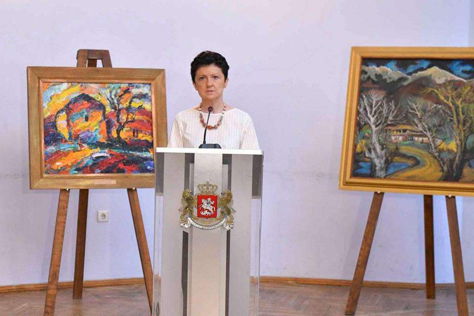 საქართველოს კულტურის სამინისტრო ხელოვნების მუზეუმსა და ეროვნულ გალერეას 2010 წელს მათი საცავებიდან გატანილ ექსპონატებს უბრუნებს