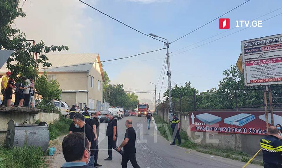Թբիլիսիի Թեմքա թաղամասում հրդեհը տեղայնացված է