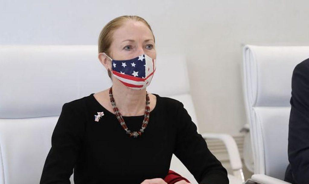 აშშ-ის დამოუკიდებლობის დღესთან დაკავშირებით, სახელმწიფო ცერემონიების სასახლეში საზეიმო მიღება გაიმართა