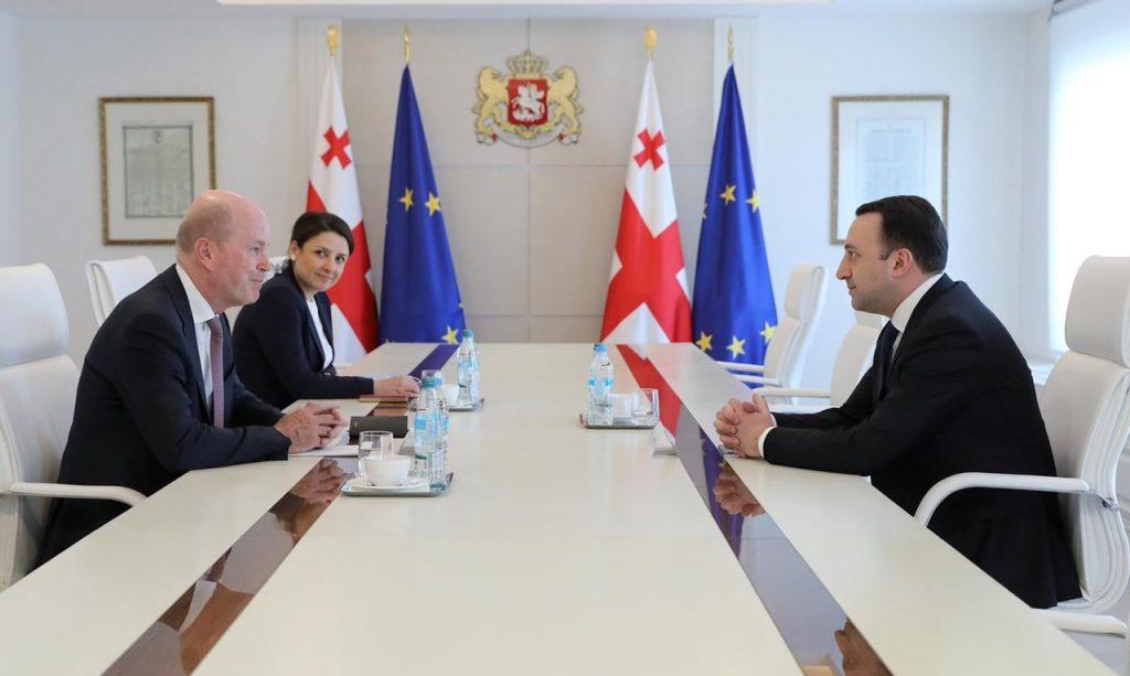 Ираклий Гарибашвили встретился с региональным директором ВР