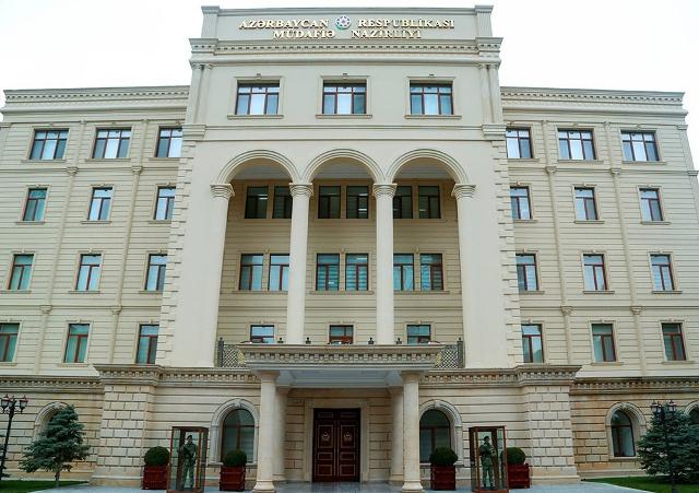 Ադրբեջանը հերքում է Հայաստանի բանակի դիրքերի ուղղությամբ կրակ բացելը