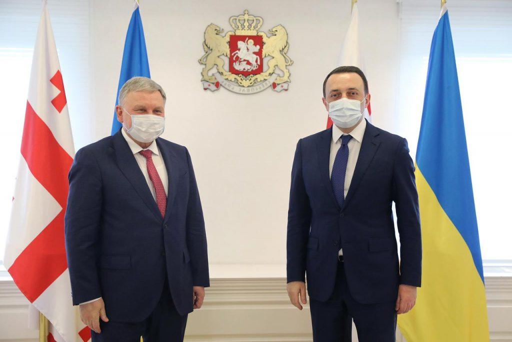 საქართველოს პრემიერ-მინისტრი უკრაინის თავდაცვის მინისტრს შეხვდა
