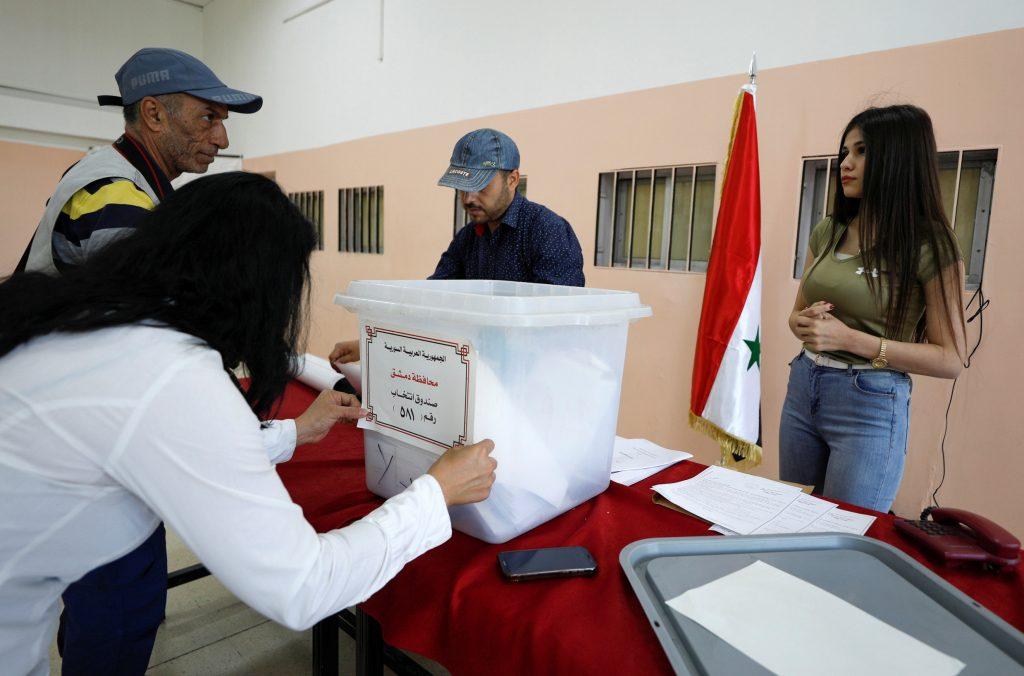 სირიაში საპრეზიდენტო არჩევნები დაიწყო