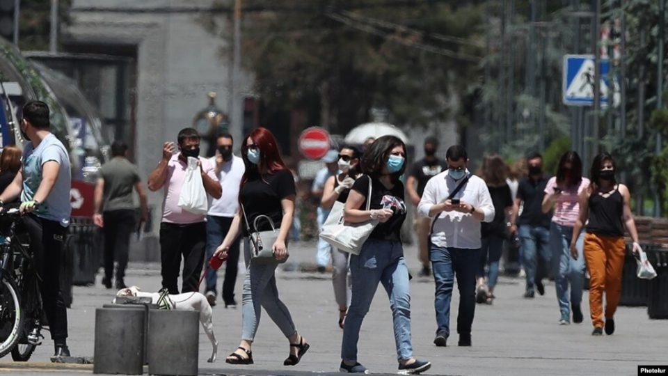 Հունիսի 1-ից Հայաստանում բաց տարածքներում շնչադիմակ կրելը այլևս պարտադիր չի լինի