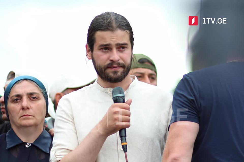 Варлам Голетиани - Сегодня мы уезжаем из Тбилиси, но это не значит, что в случае необходимости мы больше не приедем и не продолжим здесь борьбу