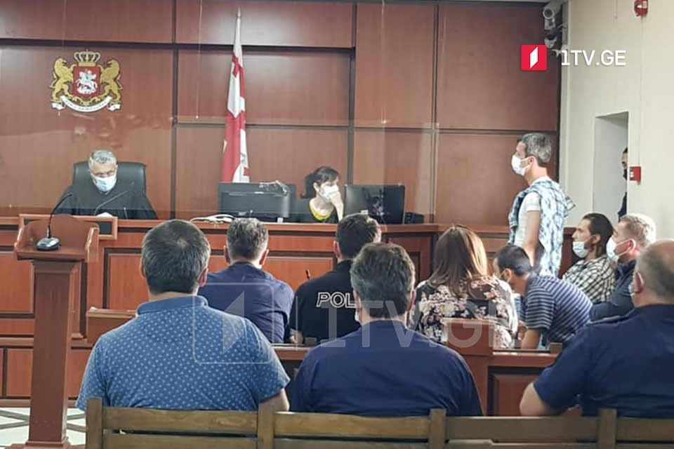 """Судебный процесс над 8-ю задержанными на акции противников """"Намахвани ГЭС"""" отложен"""