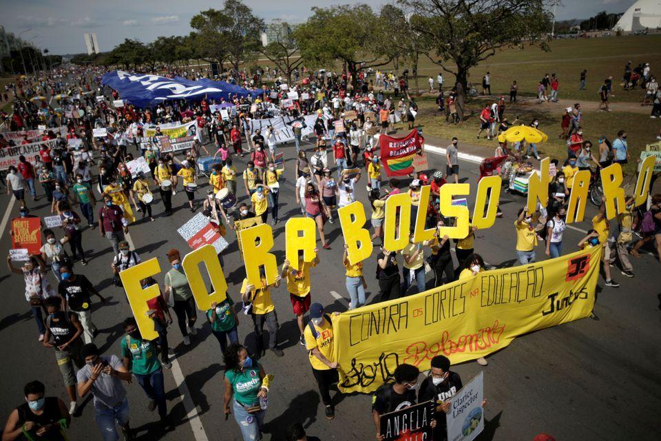ბრაზილიის ქალაქებში პრეზიდენტის საწინააღმდეგო აქციები გაიმართა