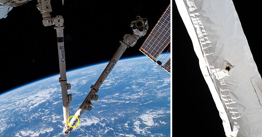 საერთაშორისო კოსმოსურ სადგურს კოსმოსური ნაგვის ფრაგმენტი შეეჯახა და მისი ერთ-ერთი ინსტრუმენტი დააზიანა — #1tvმეცნიერება