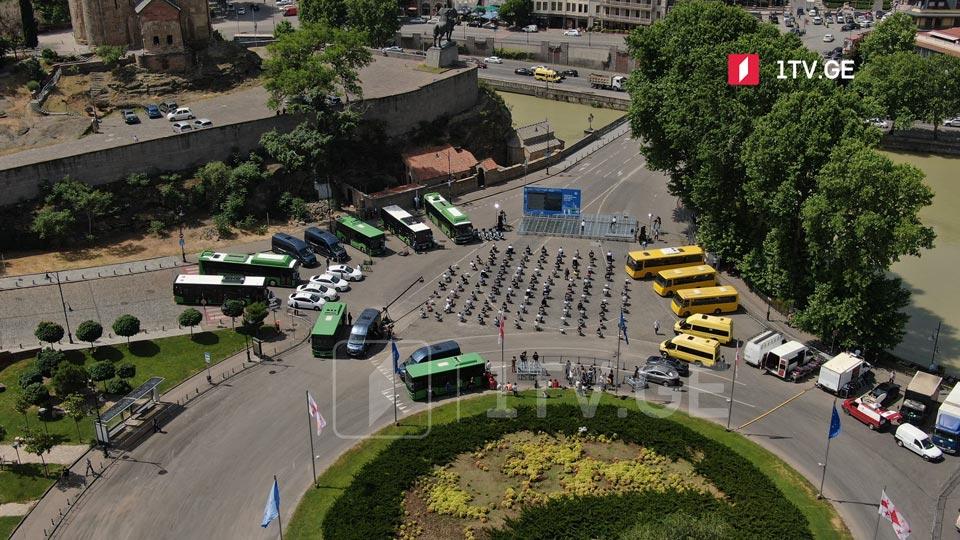თბილისში საზოგადოებრივი ტრანსპორტის მოცდის დრო საშუალოდ ოთხ წუთამდე შემცირდება