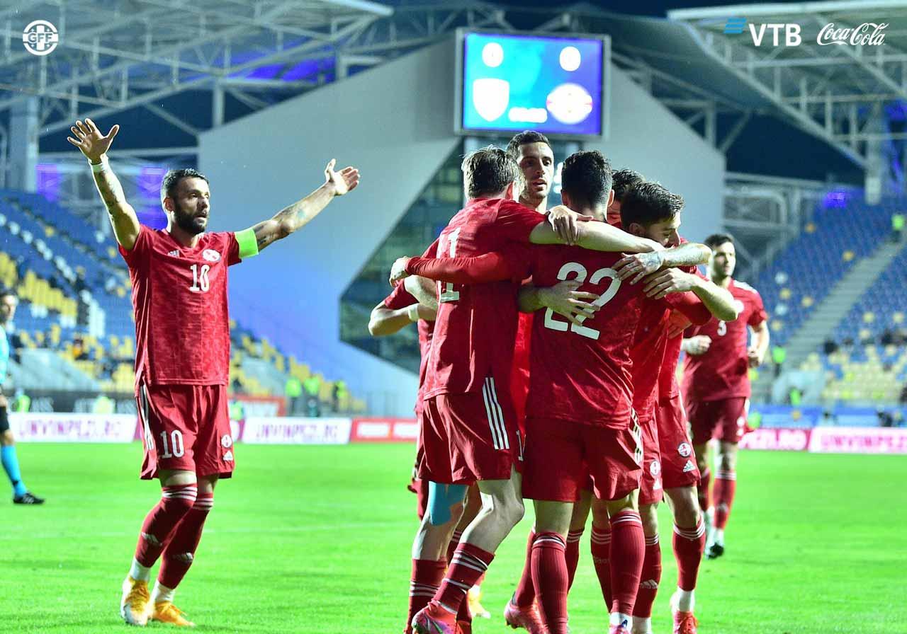 პირველად ისტორიაში - საქართველოს ნაკრებმა რუმინეთი დაამარცხა [ვიდეო] #1TVSPORT